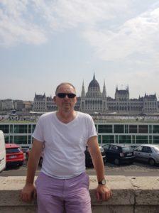Tomasz Sawicki w Budapeszcie