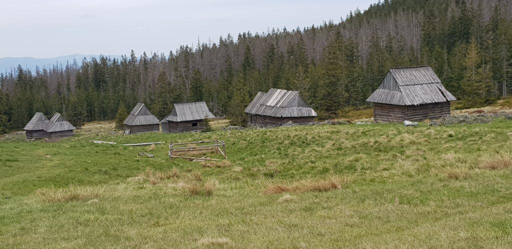 Shelter. Visiting Tatra Mountains in Spring.
